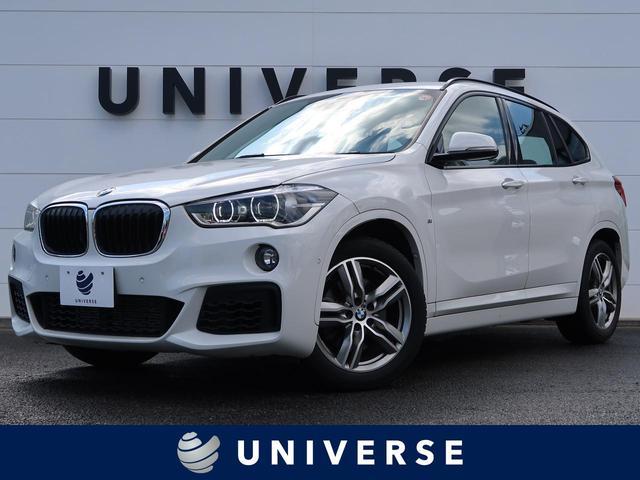 BMW X1 xDrive 25i Mスポーツ ハイラインPKG 黒革 衝突軽減ACC インテリジェントセーフティ LEDヘッド 専用18インチAW