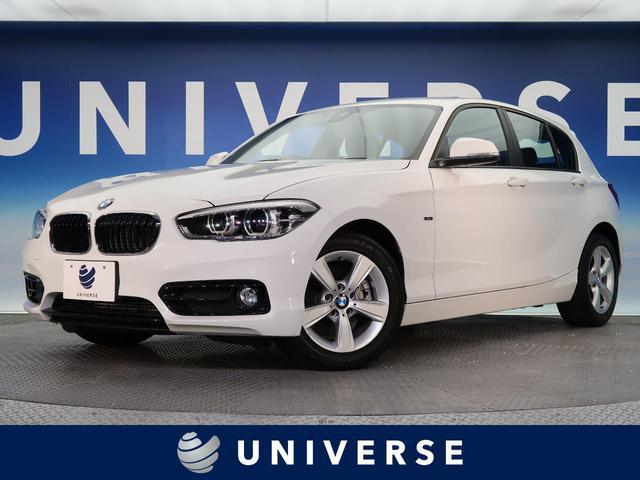 BMW 118i スポーツ HDDナビ LED クルコン キーレス レーンディパーチャーウォーニング ETC オートライト