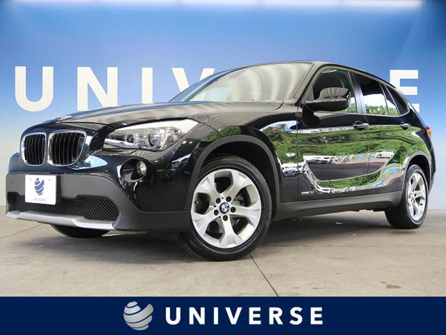 BMW X1 sDrive 18i 社外SDナビ ルームミラー内蔵ETC HIDヘッド 純正17インチアルミホイール フルセグ 禁煙車