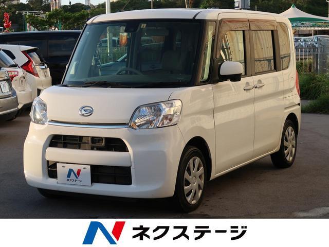 沖縄県豊見城市の中古車ならタント X SAII 衝突軽減装置 社外ナビ 電動スライドドア スマートキー ETC アイドリングストップ