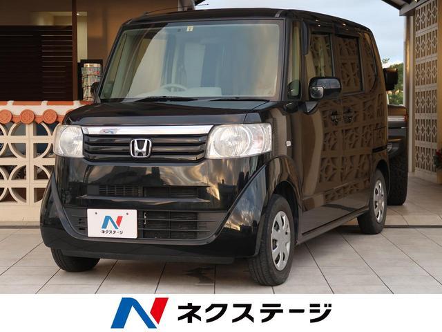 沖縄県豊見城市の中古車ならN-BOX G 両側スライドドア ETC 横滑り防止 CDオーディオ PS PW ECON プライバシーガラス