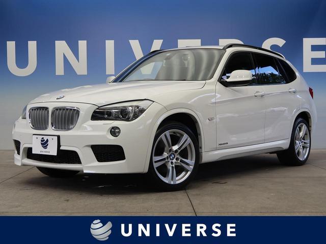 BMW xDrive 20i Mスポーツパッケージ Mスポーツ専用アルカンターラシート 社外HDDナビ 純正18インチアルミホイール フルセグ 禁煙車 ルームミラー内蔵ETC HIDヘッド デュアルオートエアコン バックカメラ 4WD