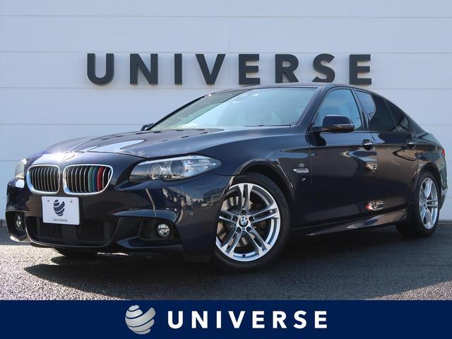 BMW 523d Mスポーツ 純正HDDナビ 地デジTV バックカメラ 衝突軽減ACC インテリセーフティ スマートキー パークディスタンスコントロール