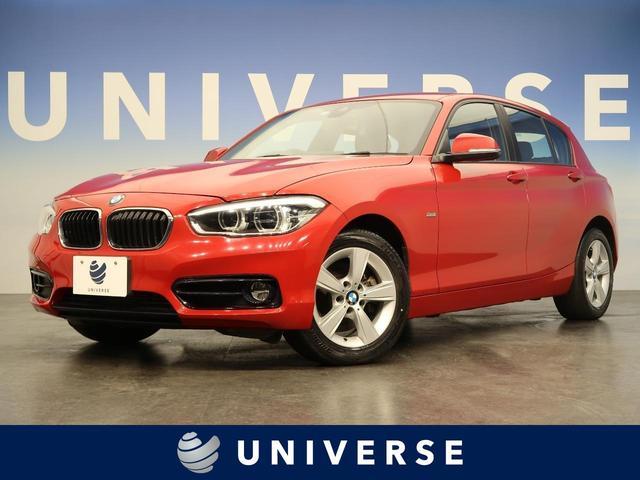 BMW 118d スポーツ 純正HDDナビ LEDヘッド フォグ キーレス レッドライン入りスポーツシート