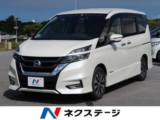沖縄県の中古車ならセレナ ハイウェイスター 社外SDナビ(フルセグ)両側電動スライドドア レーダークルーズコントロール バックカメラ