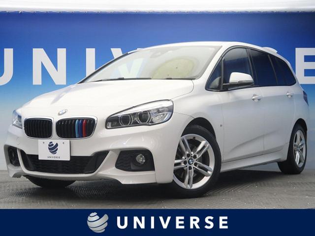BMW 218dグランツアラー Mスポーツ 純正HDDナビ フルセグTV 電動リアゲート コンフォートPKG