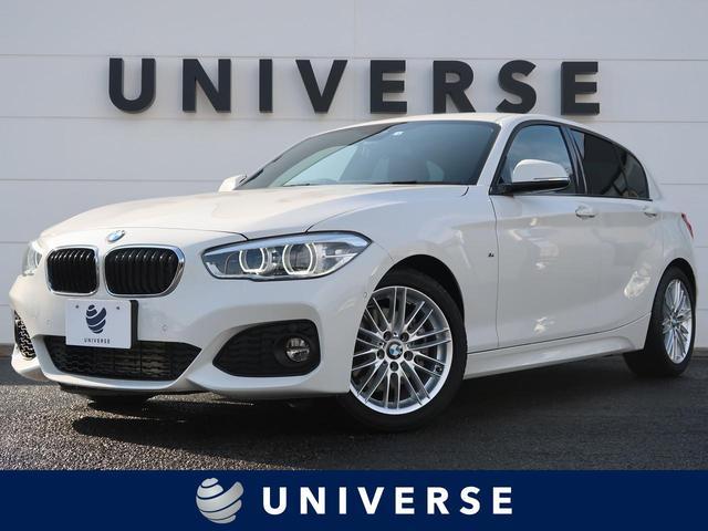 BMW 118i Mスポーツ パーキングサポートPKG 純正HDDナビ バックカメラ 専用17インチAW LEDヘッドライト クルーズコントロール スポーツシート(運転席、助手席)