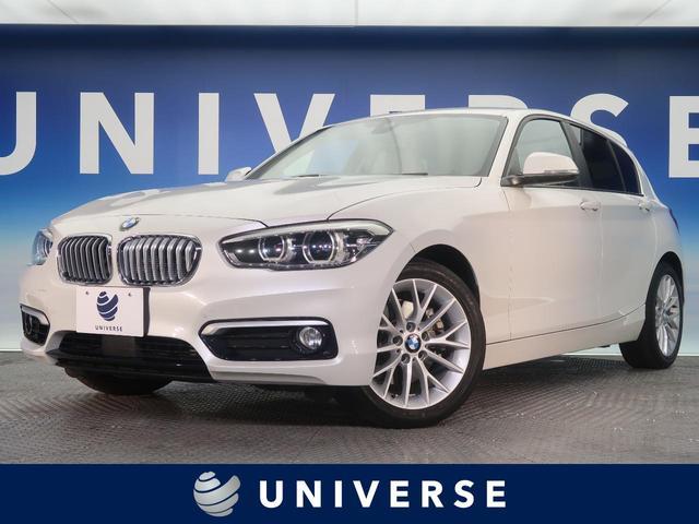 BMW 118i ファッショニスタ ベージュ革 ドライビングアシストPKG パーキングサポートPKG コンフォートPKG 純正ナビ ACC バックカメラ 前席シートヒーター LEDヘッド