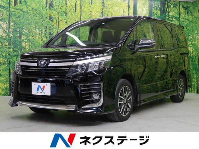 トヨタ ZS 煌II 社外ナビ・両側パワースライドドア・フリップダウンモニター・衝突軽減装置・スマートキー・バックカメラ