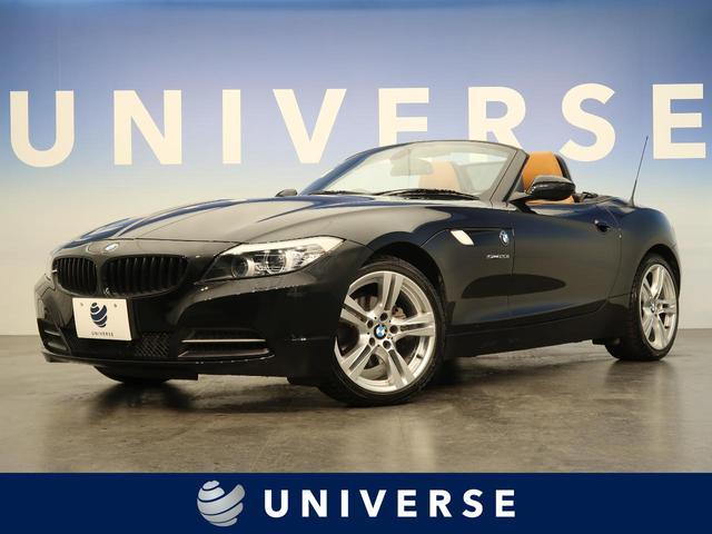 BMW Z4 sDrive20i ハイラインパッケージ 茶革シート パワーシート シートヒーター パドルシフト デュアルオートエアコン モードセレクト ミラー内蔵ETC 純正HDDナビ