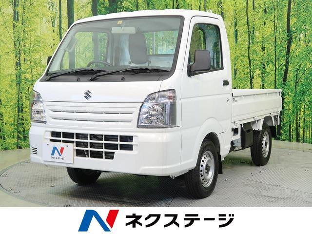スズキ KCエアコン・パワステ Wエアバック 4WD 三方開 積載量350kG ヘッドライトレベライザー 届出済未使用車 サンバイザー