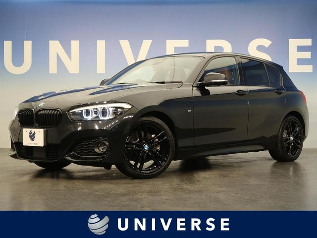 BMW 118i Mスポーツ エディションシャドー 特別仕様車 アクティブクルーズコントロール ブラウン革 純正18インチブラック塗装AW 純正ナビ