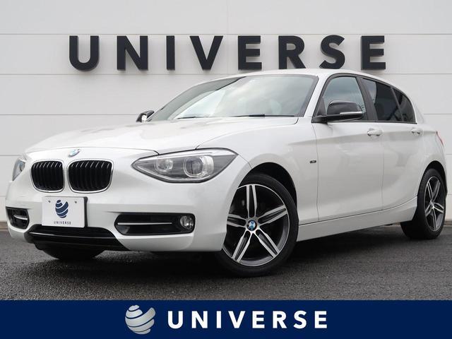 BMW 1シリーズ 120i スポーツ プラスPKG 純正HDDナビ ミラーETC キセノンヘッド スマートキー 専用17インチAW 左右独立オートAC スポーツシート