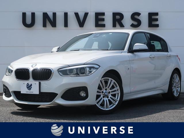 BMW 118d Mスポーツ パーキングサポートPKG Mスポーツ専用エクステリア Mスポーツサスペンション アルカンターラシート Mスポーツ専用17インチAW LEDヘッドライト HDDナビ ETC Bluetoothオーディオ