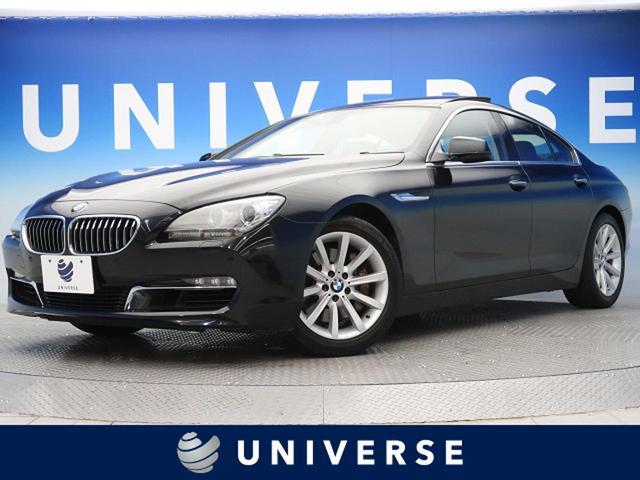 BMW 6シリーズ 640iグランクーペ サンルーフ ブラウン革シート 純正HDDナビ パークディスタンスコントロール コンフォートアクセス