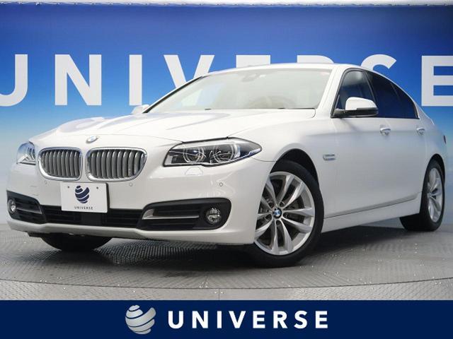 BMW 523iグレースライン 160台限定モデル アクティブLEDヘッドライト 純正HDDナビ インテリジェントセーフティ レーンチェンジウォーニング 専用18インチAW オイスターカラー革スポーツシート マットクローム加飾