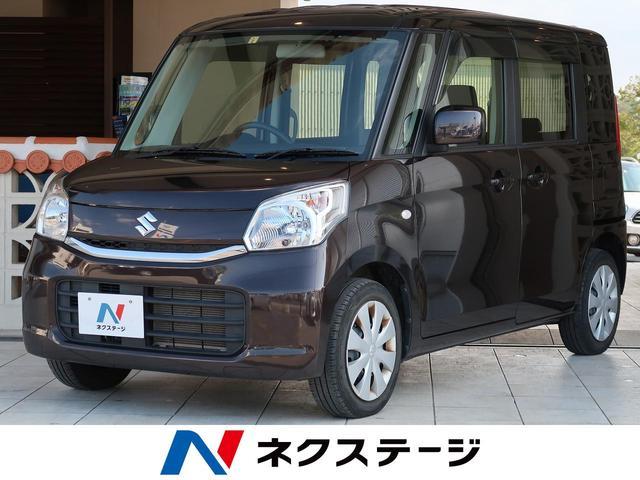 沖縄県豊見城市の中古車ならスペーシア G 社外SDナビ スマートキー フルセグTV アイドリングストップ 両側スライドドア