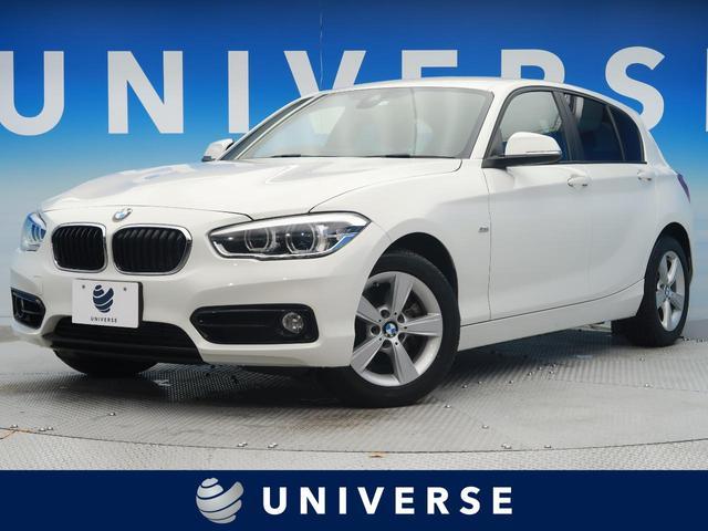 BMW 118i スポーツ ドライビングアシストパッケージ インテリジェントセーフティ LEDヘッドライト 純正HDDナビ クルーズコントロール
