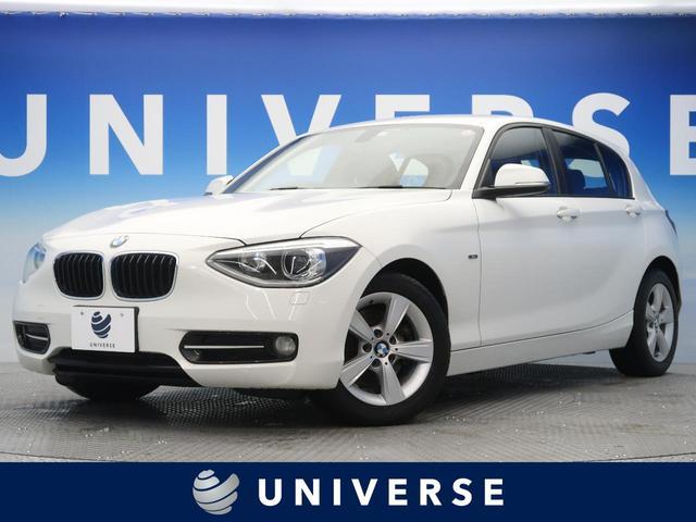 BMW 1シリーズ 116i スポーツ 純正HDDナビ バックカメラ ETC TVチューナー HIDヘッドライト オートライト 純正16インチAW 前席スポーツシート(レッドステッチ入り) デュアルオートAC リアパークソナー