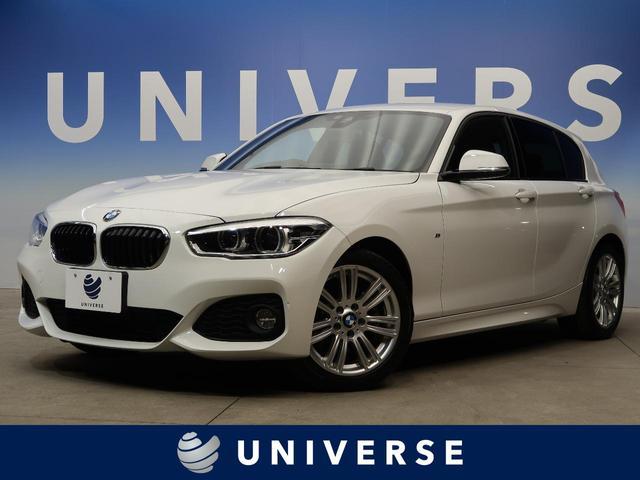 BMW 118d Mスポーツ コンフォートPKG パーキングサポートPKG LEDヘッドライト コンフォートアクセス デュアルオートエアコン 純正ナビ バックカメラ レーンキーピング 衝突軽減システム