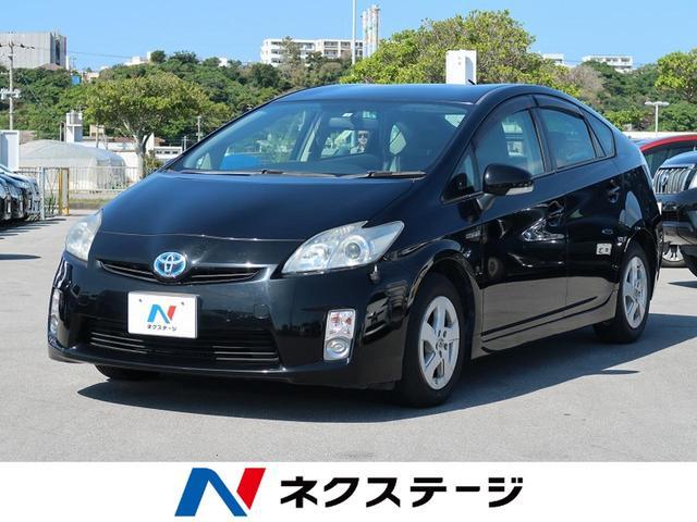 沖縄の中古車 トヨタ プリウス 車両価格 39.9万円 リ済別 2010(平成22)年 7.9万km ブラック