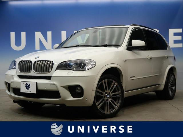 BMW xDrive 35i Mスポーツパッケージ Mスポーツ専用20インチAW 黒革シート 全席シートヒーター サンルーフ 純正HDDナビ バック/サイドカメラ ミラー内蔵ETC車載器 フルセグ コンフォートアクセス 禁煙