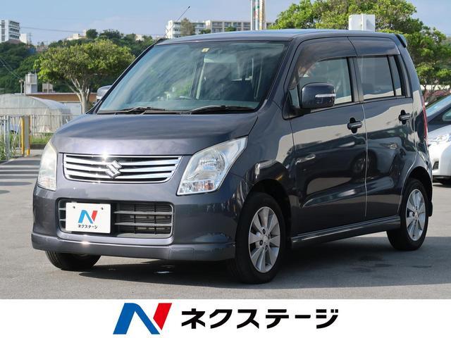 沖縄の中古車 スズキ ワゴンR 車両価格 42.5万円 リ済別 2012(平成24)年 2.7万km ルナグレーパールメタリック
