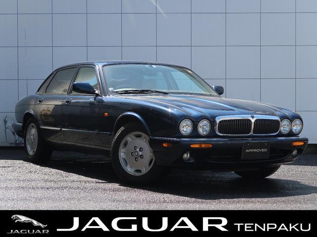 ジャガー XJ XJ8 3.2-V8 ウッドパネル アイボリーシート プライバシーフィルム パワーシート オートエアコン 禁煙車 ETC