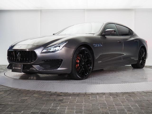 マセラティ GT S ネリッシモ・カーボン・エディション 日本限定8台 2018年モデル 21インチ・チターノグロッシーブラック B&Wスピーカー 4ゾーン調整機能付エアコンディショナー カーボンパッケージ