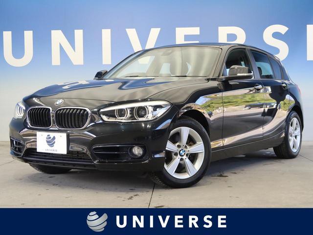 BMW 1シリーズ 118d スポーツ パーキングサポートPKG 純正HDDナビ ディーゼル バックカメラ ミラー内蔵ETC車載器 純正16インチAW LEDヘッドライト パークディスタンスコントロール クルーズコントロール 禁煙車