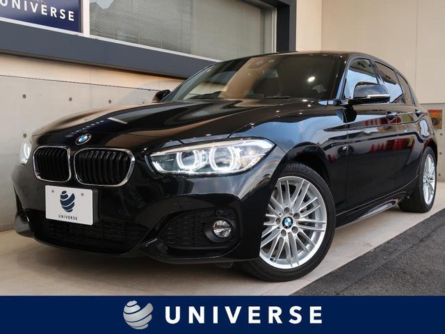 BMW 118i Mスポーツ 純正ナビ バックカメラ 前後パーキングセンサー クルーズコントロール コンフォートアクセス インテリジェントセーフティ LEDヘッドランプ レーンキープアシスト スポーツサスペンション ETC 禁煙車