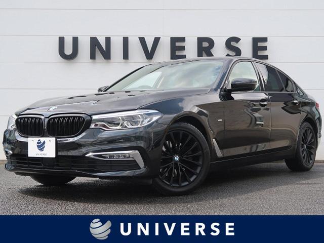 BMW 523d ラグジュアリー ベージュ革 全周囲カメラ インテリジェントセーフティ 衝突軽減ACC LEDヘッドランプ ヒーター付パワーシート ミラーETC 専用18インチAW 電動トランク スマートキー