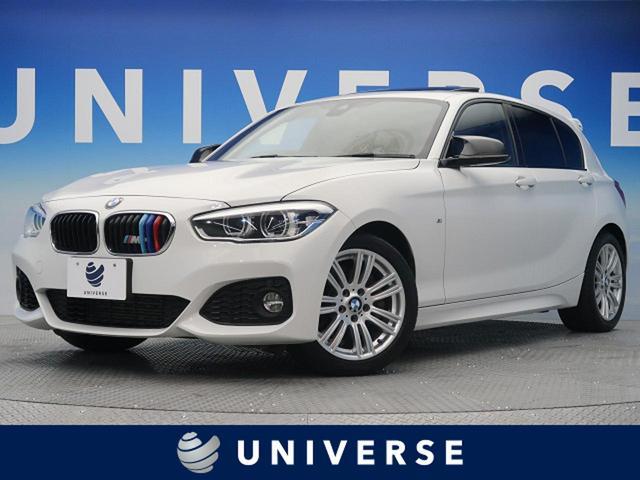 BMW 1シリーズ 118i Mスポーツ サンルーフ 純正HDDナビ バックカメラ フルセグTV パーキングサポートPKG コンフォートPKG シーケンシャルウィンカー