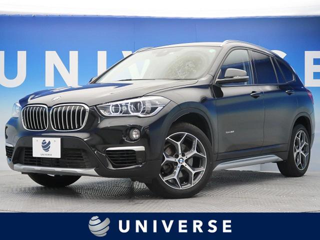 BMW sDrive 18i xライン インテリセーフティ 純正HDDナビ バックカメラ ワンオーナー LEDヘッドライト ハーフレザーシート 前席シートヒーター 純正18インチAW コンフォートアクセス(スマートキー) 電動リアゲート