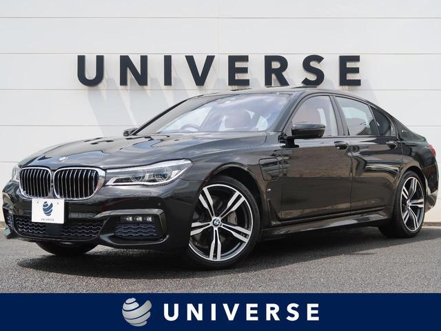 BMW 7シリーズ 740eアイパフォーマンス Mスポーツ デザインピュアエクセレンスインテリア/リアコンフォートPKG/Bowers&Wilkinsサウンド/LEDレーザーランプ/オプション20インチAW/サンルーフ/コニャックブラウンレザー/衝突軽減機能
