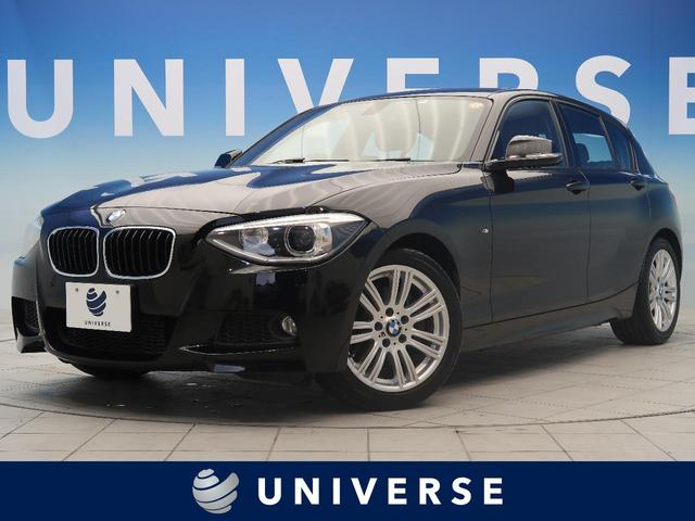 BMW 116i Mスポーツ 純正ナビ 地デジTV バックカメラ ヘキサゴンクロス/アルカンターラコンビスポーツシートシート Mスポーツサスペンション HID 純正17AW デュアルオートエアコン