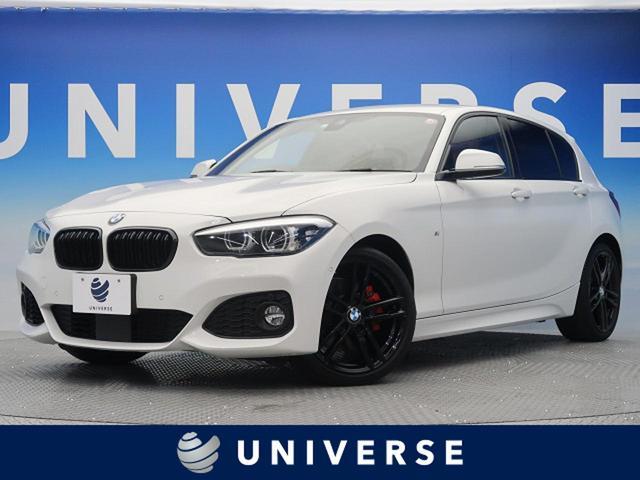 BMW 118i Mスポーツ エディションシャドー 特別仕様 ブラック加飾エクステリア コニャックレザーシート Hifiスピーカー コンフォートPKG ドライビングアシスト パーキングサポートPKG 純正HDDナビ バックカメラ LEDヘッドライト