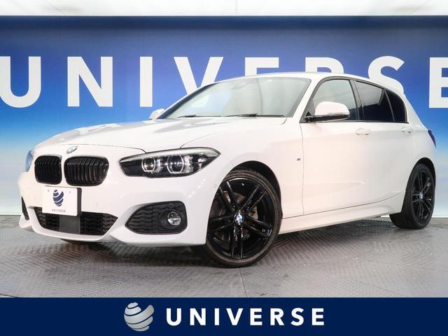 BMW 118d Mスポーツ エディションシャドー ブラウンダコタ革シート パーキングサポートPKG コンフォートPKG アクティブクルーズコントロール 専用18インチAW シートヒーター パワーシート デュアルオートエアコン 7スピーカー