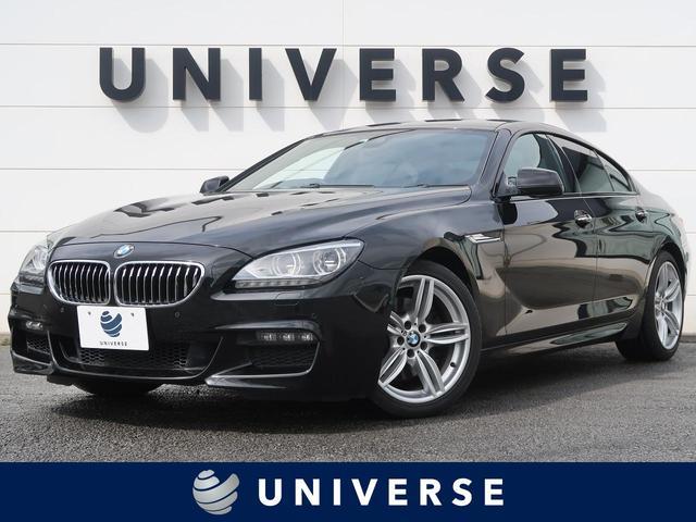 BMW 6シリーズ 640iグランクーペ Mスポーツパッケージ サンルーフ LEDヘッドランプ レーンチェンジウォーニング ブラックレザーシート シートヒーター デュアルオートエアコン 純正19インチアルミホイール バックカメラ フルセグ ミラー内蔵ETC