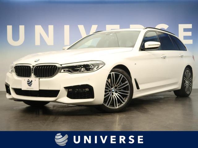 BMW 5シリーズ 540i xDriveツーリング Mスポーツ ACC ヘッドアップディスプレイ 全席シートヒーター ジェスチャーコントロール コンフォートシート ソフトクローズドア 前席シートヒーター パワーバックドア 純正19インチAW コンフォートアクセス