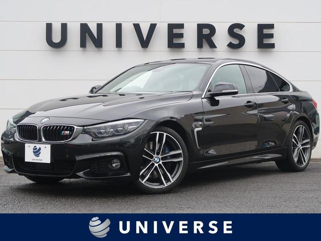 BMW 4シリーズ 420iグランクーペ イン スタイル スポーツ ファストトラックPKG 限定車 1オーナー インテリセーフ 衝突軽減ACC/LDW/BSM ヘッドアップディスプレイ 黒革シート 専用19インチAW 純正ナビ バックカメラ LEDヘッドランプ