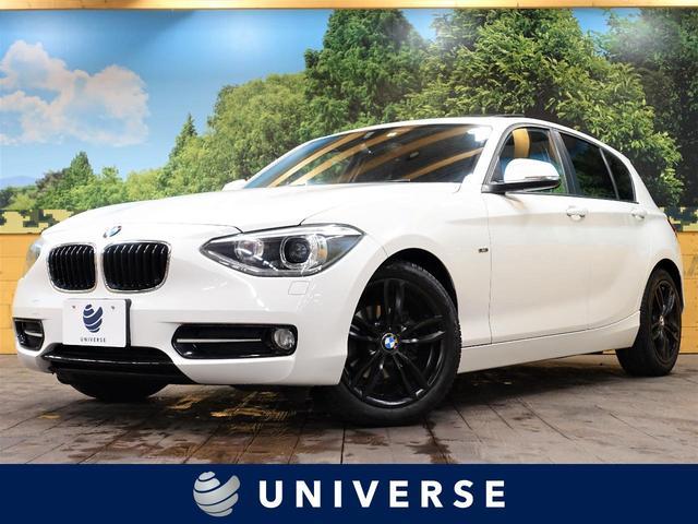 BMW 1シリーズ 116i スポーツ サンルーフ 純正HDDナビ Bluetooth接続 キセノンヘッドライト/フロントハロゲンフォグ 社外17インチブラックホイール