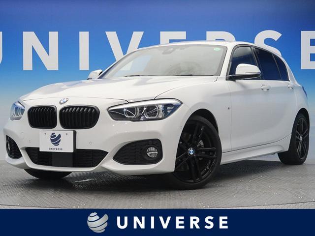 BMW 118i Mスポーツ エディションシャドー 特別仕様車 ACC 純正HDDナビ バックカメラ ドライビングアシスト コンフォートパッケージ LEDヘッドライト ブラックレザーシート パワーシート シートヒーター