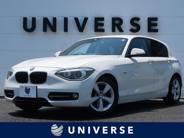BMW 1シリーズ 116i スポーツ パナソニック製2DINナビ フルセグTV バックカメラ HIDヘッドランプ コンフォートアクセス 赤ステッチ入りスポーツシート フォグランプ 純正16インチAW オートエアコン