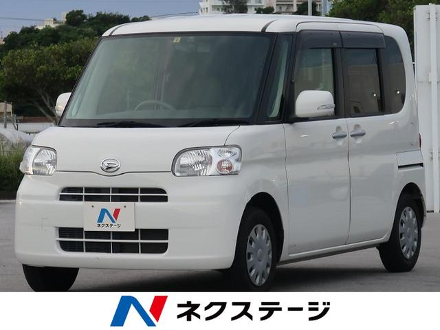 沖縄県宜野湾市の中古車ならタント X CDオーディオ 片側電動スライドドア スマートキー オートエアコン ベンチシート
