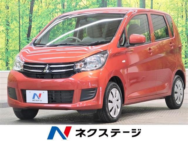 三菱 eKワゴン E 禁煙車 運転席シートヒーター リモコンキー 電動格納ミラー バニティミラー 社外オーディオ CD再生 AUX接続