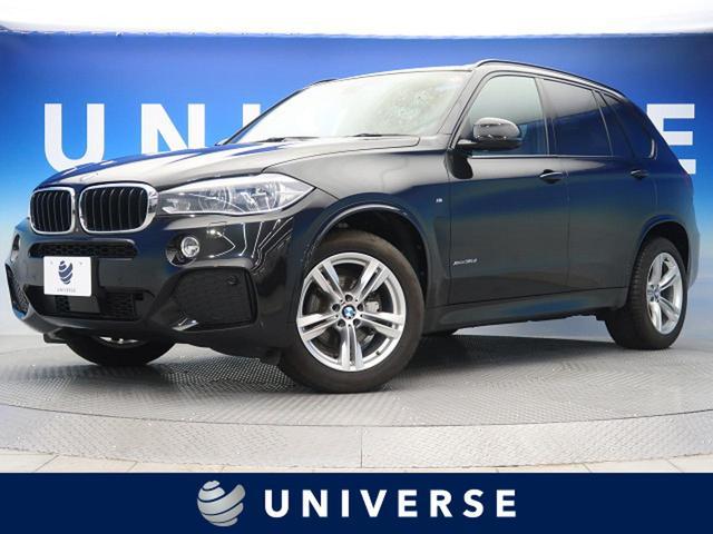 BMW xDrive 35d Mスポーツ サンルーフ 純正HDDナビ LEDヘッド 全席シートヒーター 茶革シート パワーシート パワーバックドア ACC コンフォートアクセス