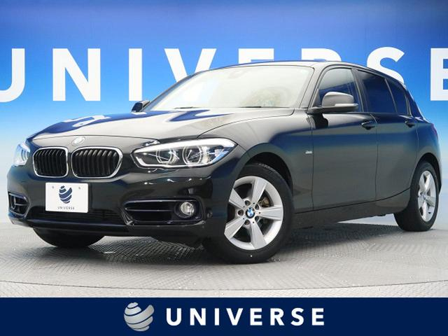 BMW 118d スタイル 自社買取車両 純正HDDナビ パーキングサポートパッケージ LEDヘッドランプ インテリジェントセーフティ 車線逸脱警告 純正16インチAW
