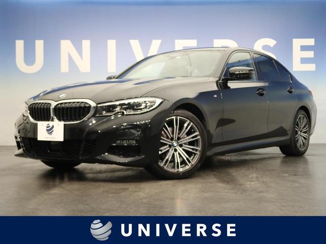 BMW 320d xDrive Mスポーツ 黒革 シートヒーター パワーシート 電動トランク アクティブクルーズ 純正ナビ 全周囲カメラ