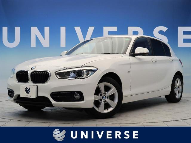 BMW 1シリーズ 118d スポーツ 自社買取車 パーキングサポートパッケージ クルーズコントロール LEDヘッドライト LEDフォグ レッドライン入コーナークロススポーツシート  バックカメラ